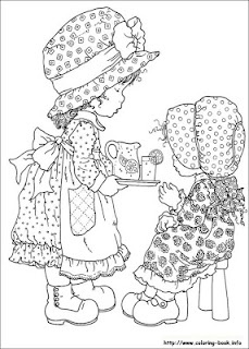 paint sarah kay colouring pages