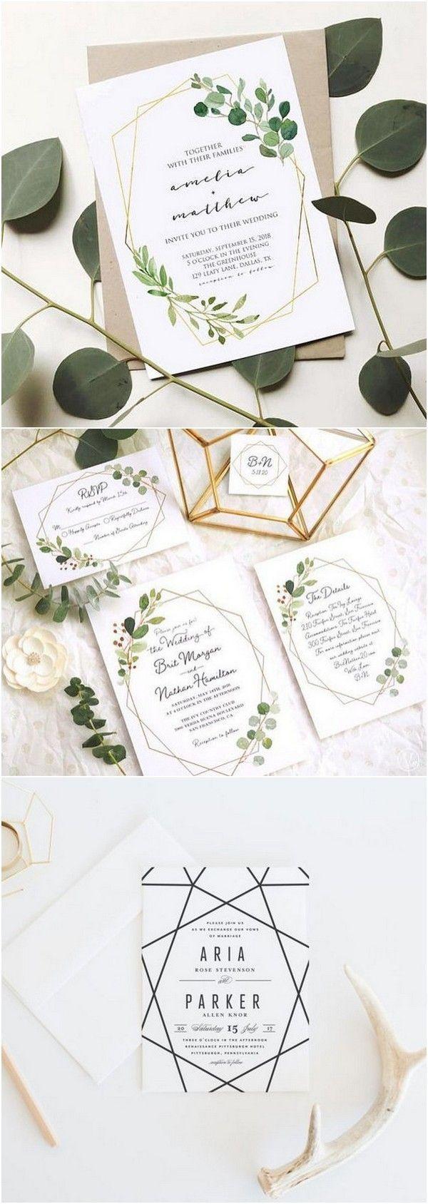 22 best Zaproszenia Ślubne Boho design images on Pinterest | Bridal ...