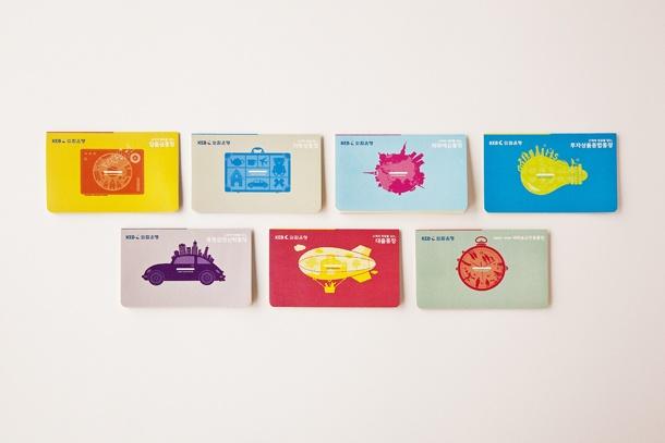 Korea Exchange Bank's Bankbook Design(total 28 designs)