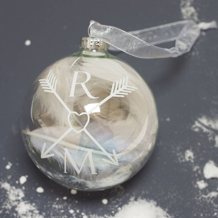 Couple Monogram Bauble – Little Pieces