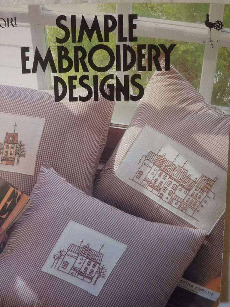 Simple Embroidery Designs Broderie Facile