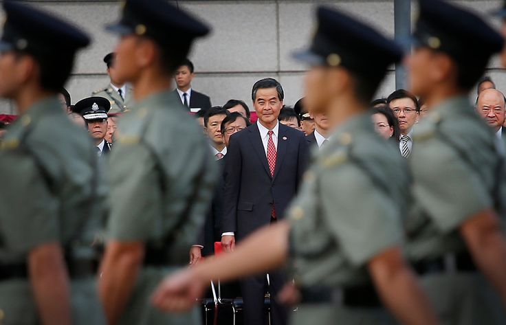 For Hong Kong Leader, Pressure Builds From Both Sides