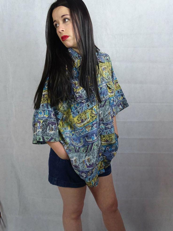 Aiecle Vintage - Camisa azteca// Aztec shirt