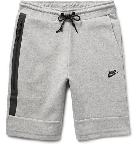 NIKE Cotton-Blend Tech Fleece Shorts . #nike #cloth #shorts