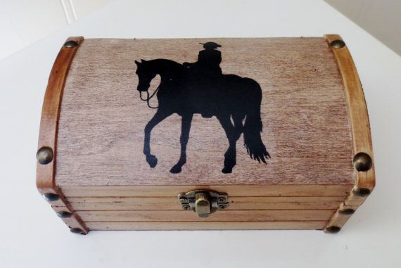 Western Horse Jewelry Storage Chest by PeacefullyPerfect on Etsy