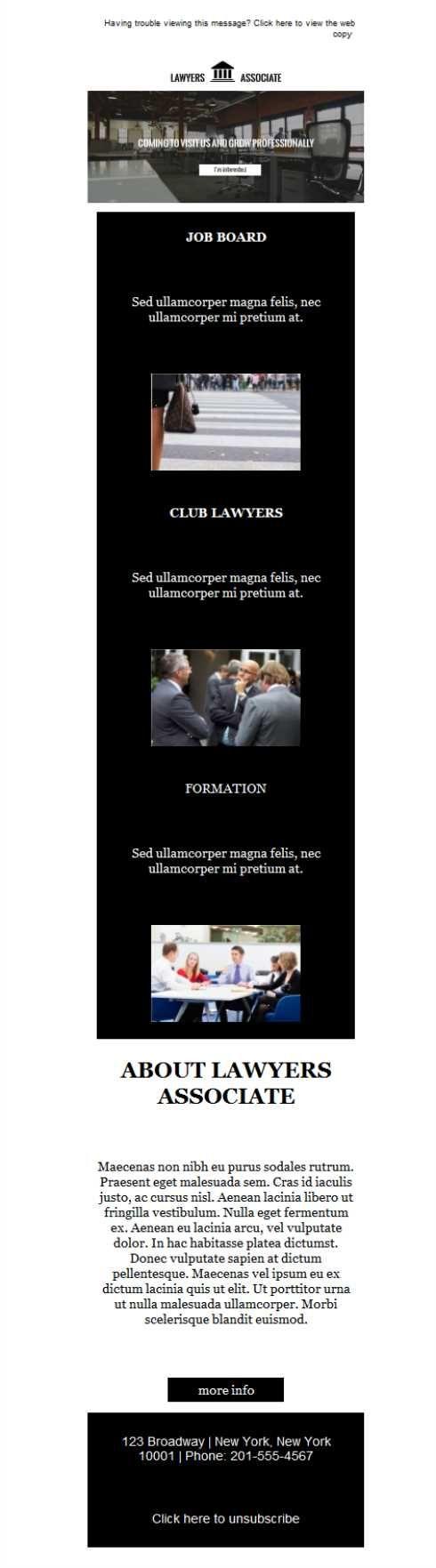 Plantillas newsletter para asociaciones profesionales. ¿A qué ...