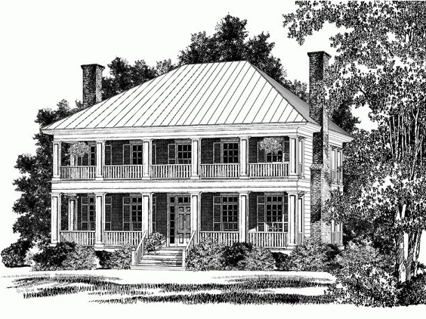 11 best images about plantation house plans on pinterest for Best southern house plans