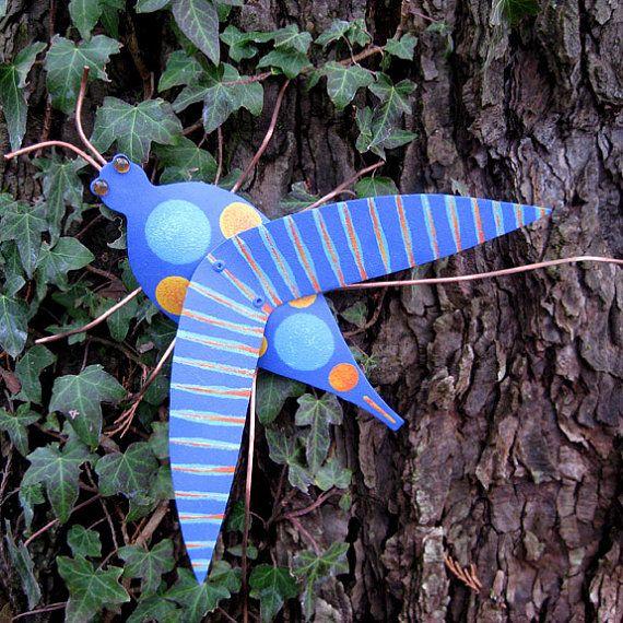 Outro espeto para jardim: Grasshopper Original, Garden Art, Art Grasshopper, Original Repurposed, Decorations For, Garden