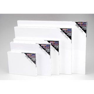 Blank prestretched artist canvas 8 x 10 inches 2 pack for Diy blank canvas