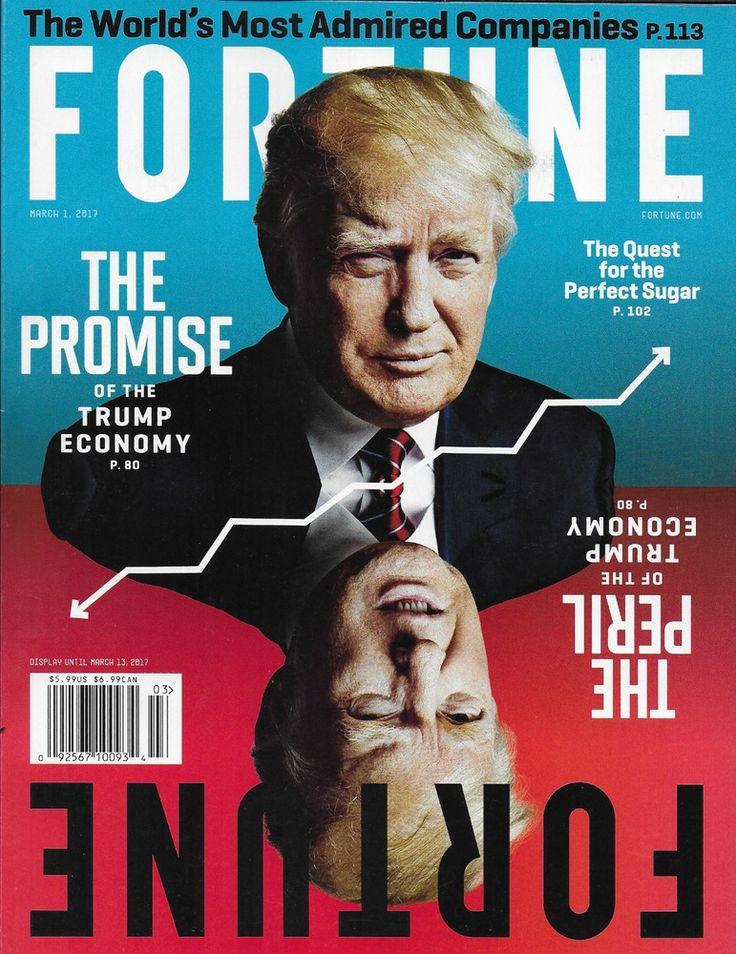 Fortune magazine Donald Trump The worlds most admired companies Cirque du Soleil