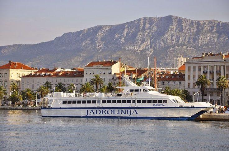 Na promie fajnie jest Croatia, Split, Jadrolinia, Prom