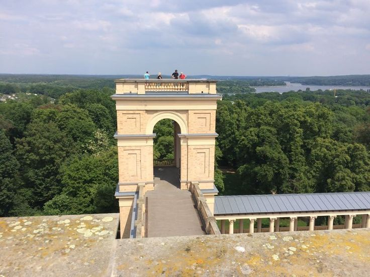 Castle Belvedere on Pfingstberg