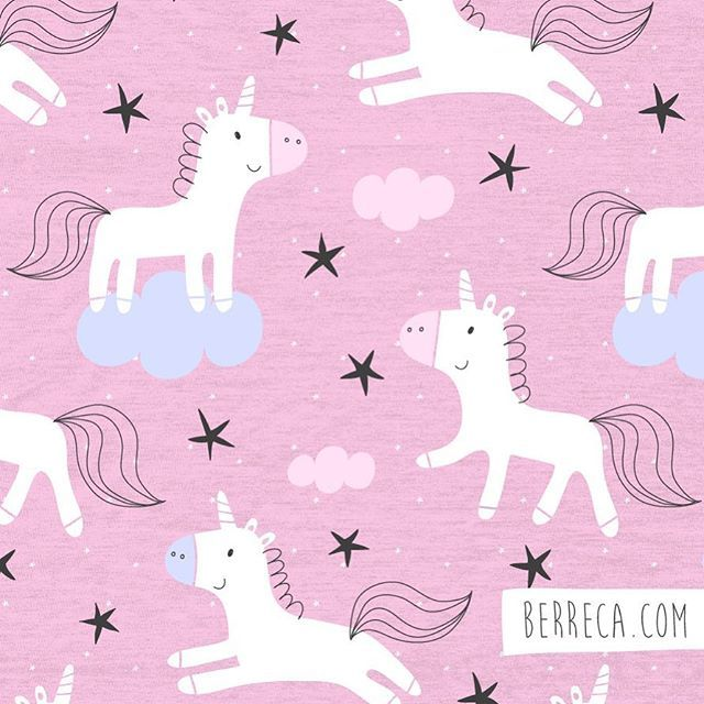 Magic Unicornsberreca Unicorn Unicornio Pattern Surfacepattern Surfacepatterndesign