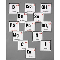 Stick to Science - Chemical Nomenclature Cards