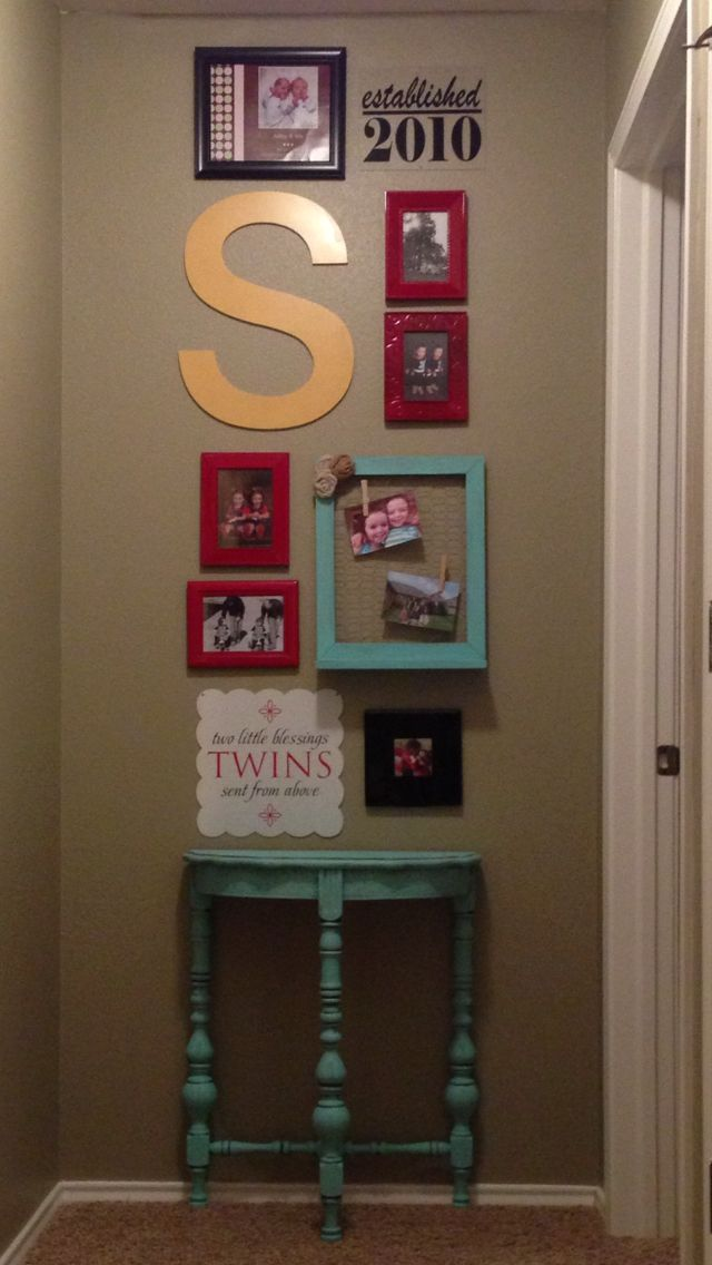 Wall Decor For End Of Hallway : Best stair landing decor ideas on