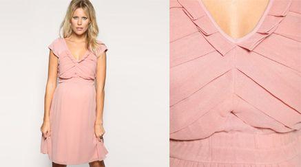 Nieuwe voorjaarsmode, Prachtige lente jurk van Asos voor de hippe zwangere en vooral trendy mama's.