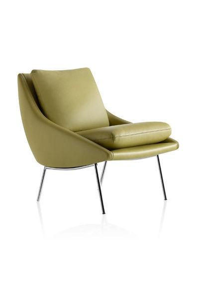 Fauteuil 800 en cuir ou tissu Steiner Paris Design Joseph André Motte