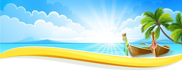 Bloggang.com: Blå ost: 62 - stranden med kokospalmer.