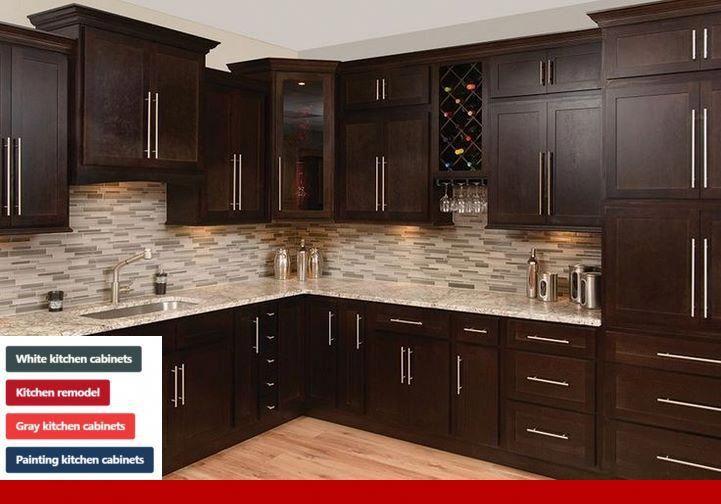 Kitchen Cabinet Dimensions Australia Espresso Kitchen Cabinets Shaker Kitchen Cabinets Brown Kitchen Cabinets
