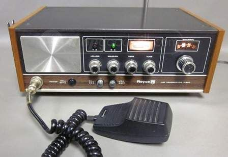 Royce Home Base CB AM Transceiver Radio 1-621