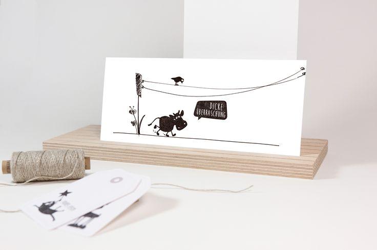 Verschönere Postkarten, Geschenkpapier und vieles mehr! Alle Stempel von cats on appletrees findest du in unserem DaWanda-Shop