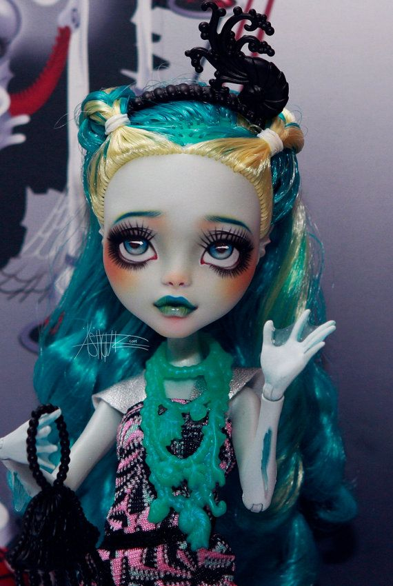 RESERVED Monster High repaint Monster High custom by AshGUTZ