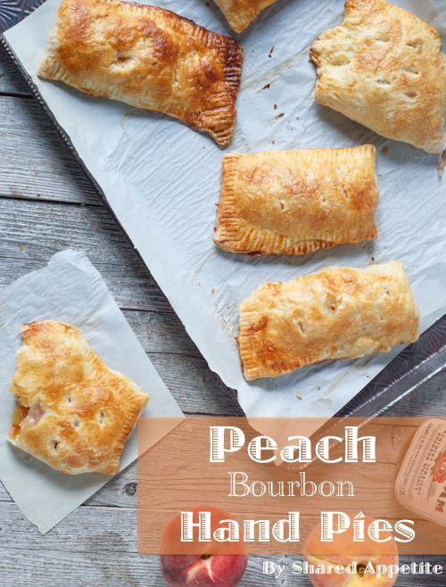 Peach Bourbon Hand Pies #bourbonrecipe #bourbon #peaches