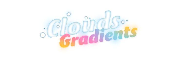 Clouds & Gradients Pt. 4 on Behance