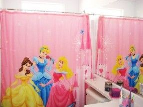 219 Disney Princess Shower Curtains ~