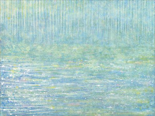 Beautiful work (Monet like) from 4 year old Iris Grace.
