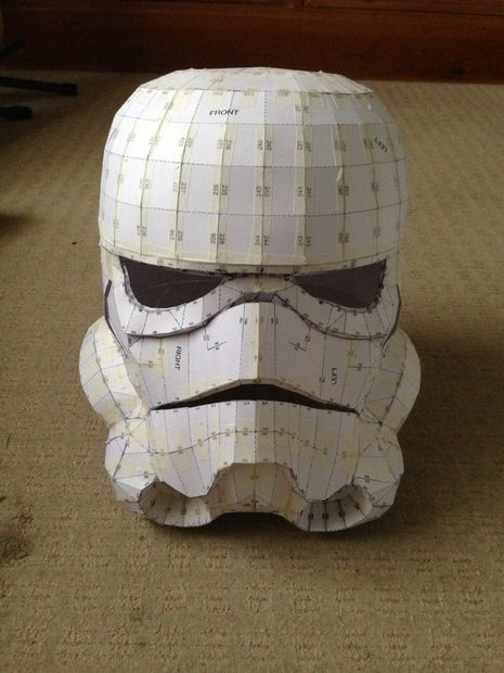 Make a storm trooper on a budget. But still looking like professional work.