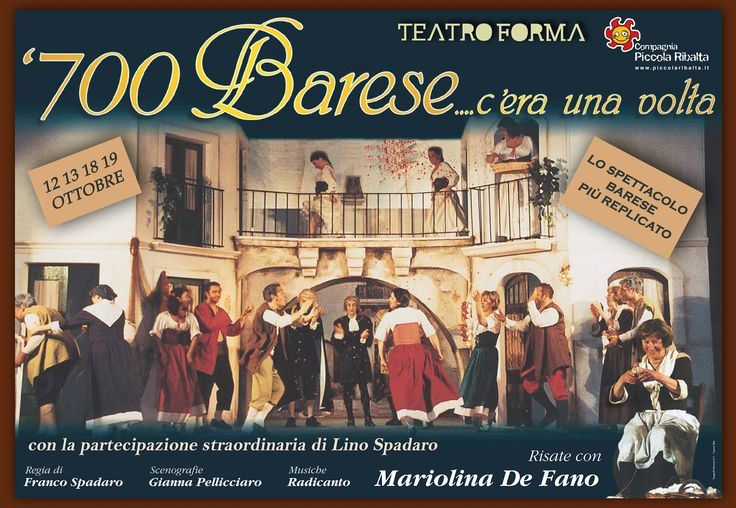 12/13/19/20 Ottobre - Teatro Forma Bari