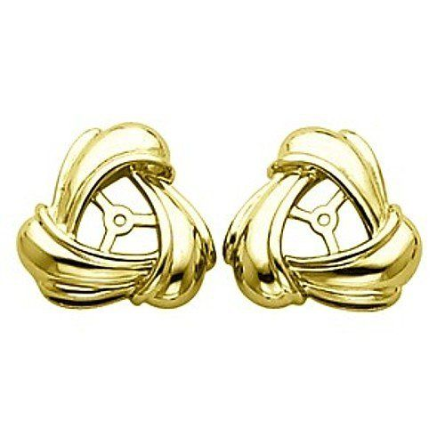 Pair of 14K Yellow Gold Earring Jackets Gems-is-Me. $762.70. FREE PRIORITY SHIPPING. This item will be gift wrapped in a beautiful gift bag. In addition, a 'gift message' can be added.. Save 40%!