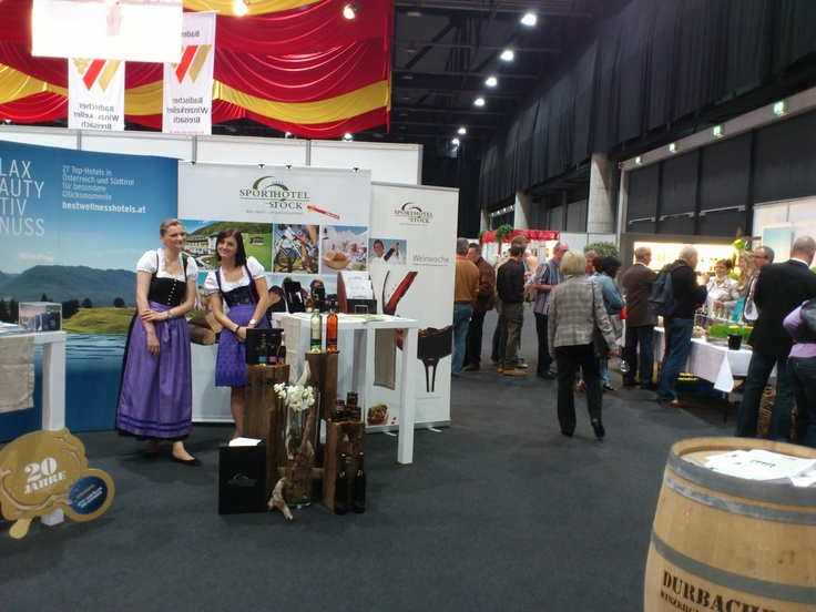 Weinmesse in Offenburg 2012