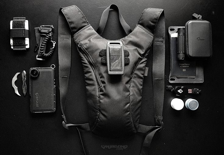 Vagabonding Minimal Backpack E.D.C. Kit