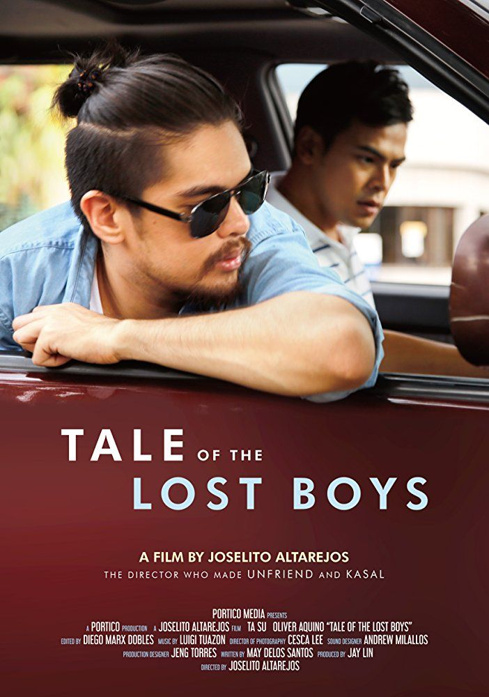 Oliver Aquino And Soda Voyu In Tale Of The Lost Boys 2017 Pinoy Movies Lost Boys Indie Movies