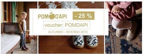 #POMDAPI #SCONTO -25% ! AUTUNNO-INVERNO