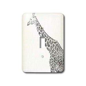 Black And White Giraffe Sketch Animals Art Light