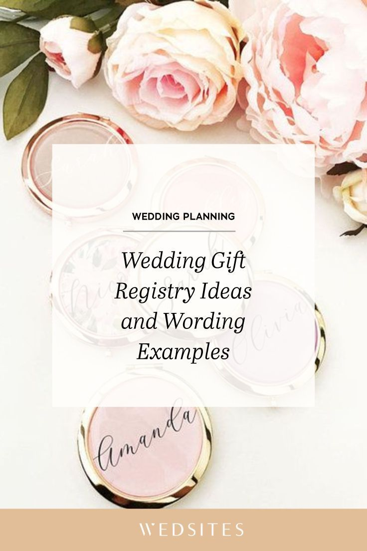 Wedding Gift Registry Ideas And Wording Examples Wedding Gift Registry Wedding Registry Wording Wedding Gift Cards