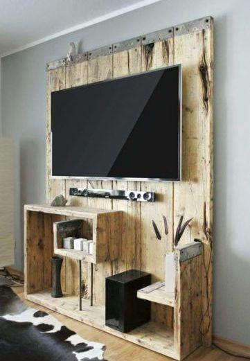 Rack de madeira: Dicas + 38 modelos incríveis para sua sala