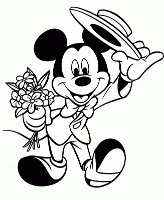 58 best Hobby colouring pages Mickey Minnie Mouse images on
