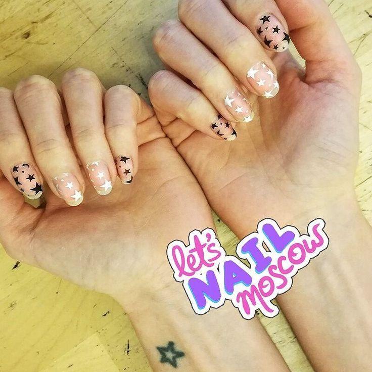 #nails #nailart #beautifulnails #funnails #ногти #маникюр #красивыеногти #starnails #звездныйманикюр  Космос все не отпускает))
