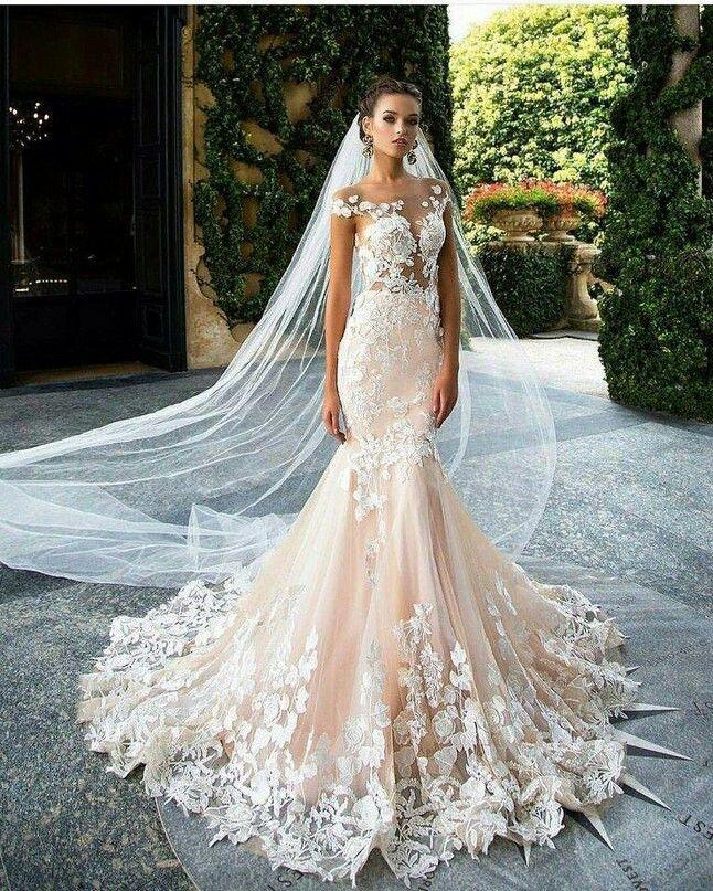 535 best Elegant White Gowns images on Pinterest | Bridal, Dream ...
