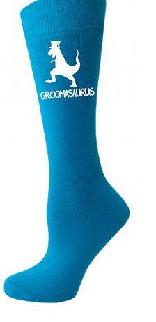 1 x een paar blauwe sokken (One size) afgedrukt met Groomasaurus dinosaurus ontwerp  zal worden afgedrukt zoals afgebeeld tenzij andere print kleur wordt aangevraagd op moment van aankoop.   Bedankt