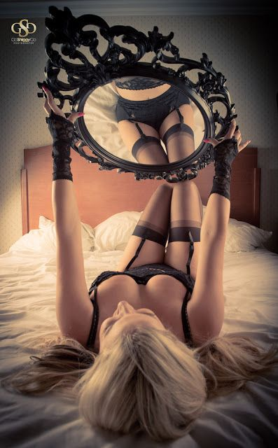 "Mirror mirror,... What is my future,..""well with a body dressed like that,"