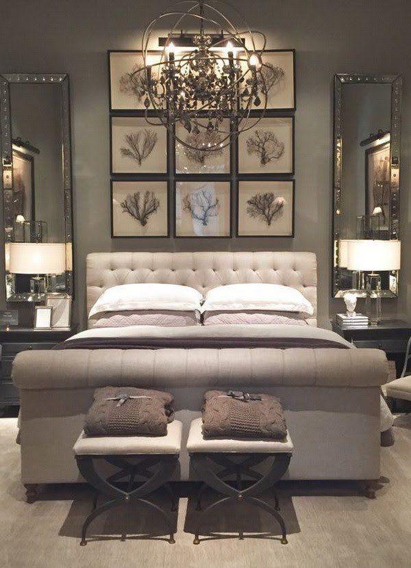 Master bedroom design idea.