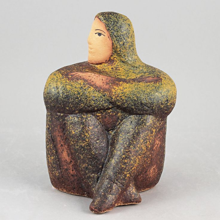 Lisa Larson (2002) Extremely Rare Contemplating Woman (2)