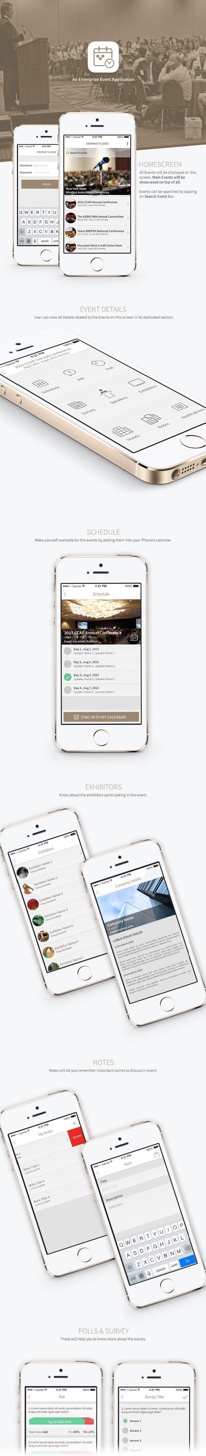 An Enterprise Event App