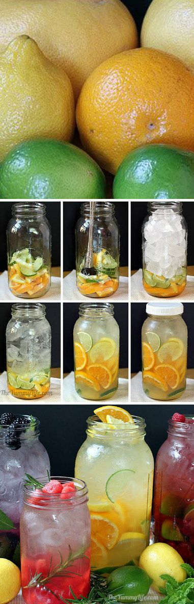 Naturally Flavored Water (Diet Recipes Detox)