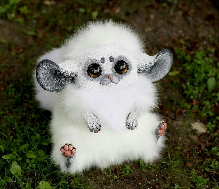Inari Foxes: Snowball by Santani.  Check out Deviant art for more creations.